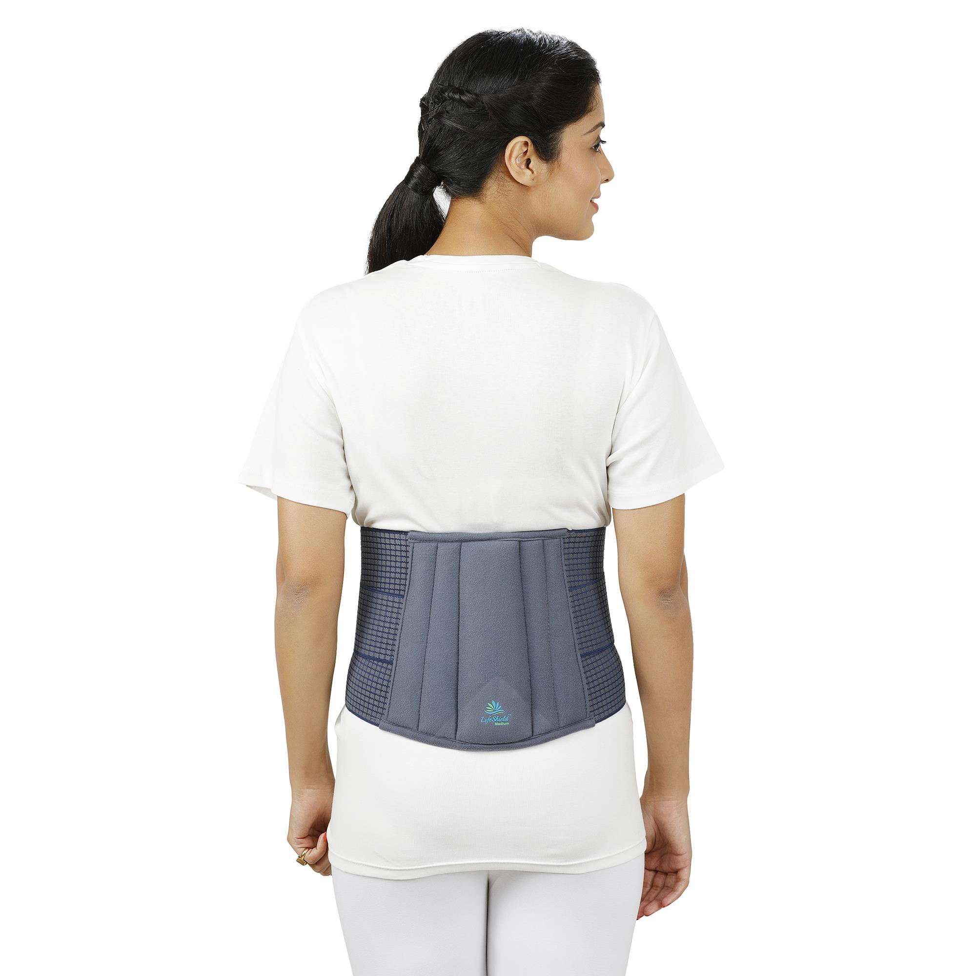 Lifeshield Lumbo Sacral Support With Soft Padded Foam: Provides Back Support To Lumber Region (X Large)