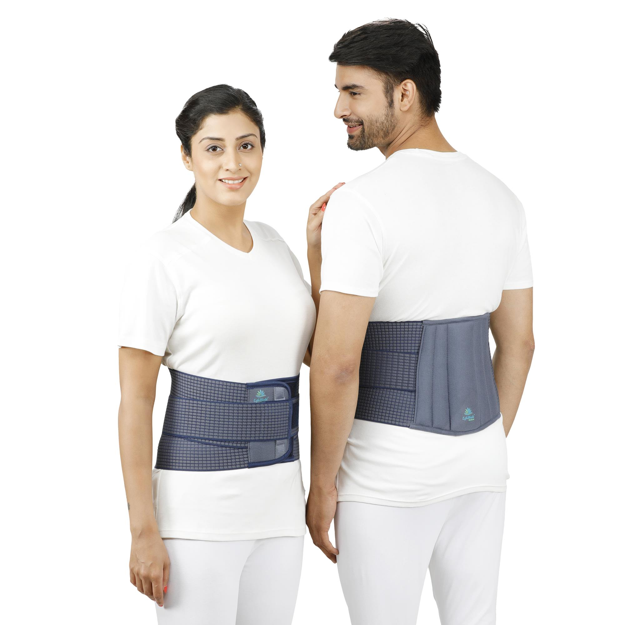 Lifeshield Lumbo Sacral Support With Soft Padded Foam: Provides Back Support To Lumber Region (Large)