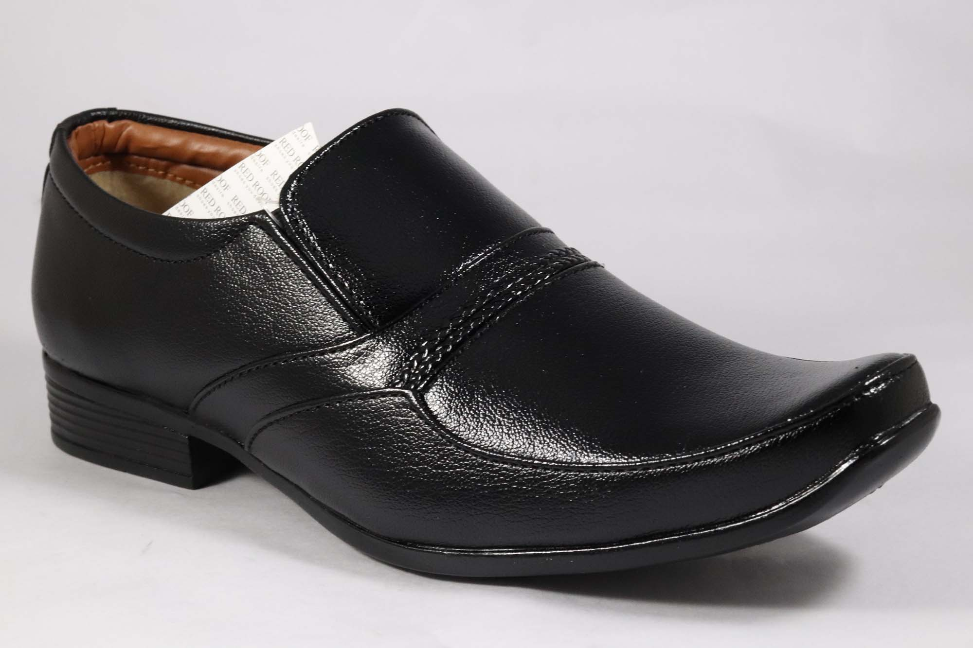 Lo Paposh Comfortable Formal Shoes RedRoof_22 (Black,6-9,8 PAIR)