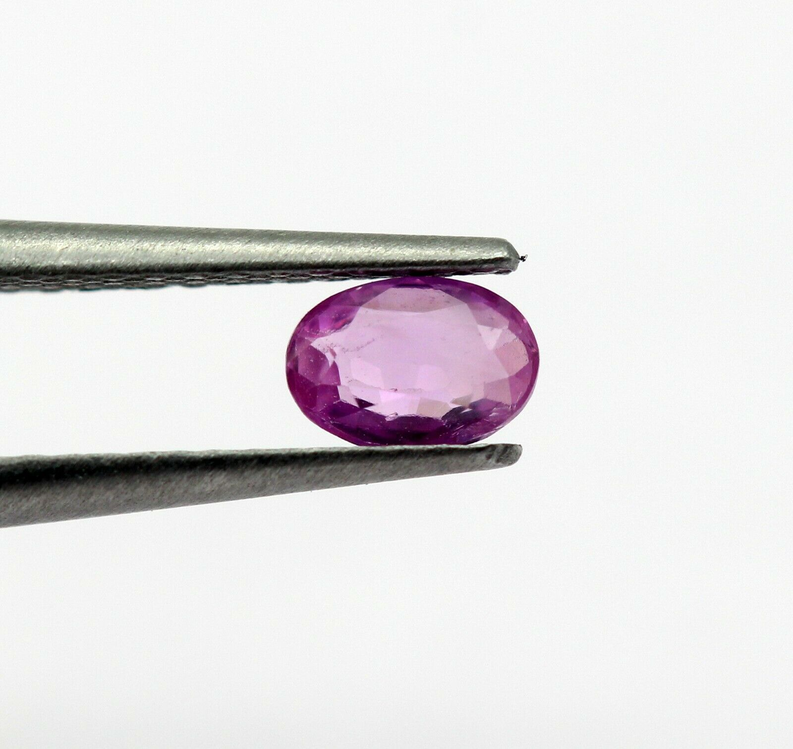 0.34 Ct Pink Sapphire Oval Natural Gemstone Light Pink Color Sri Lankan Birthstone Certified