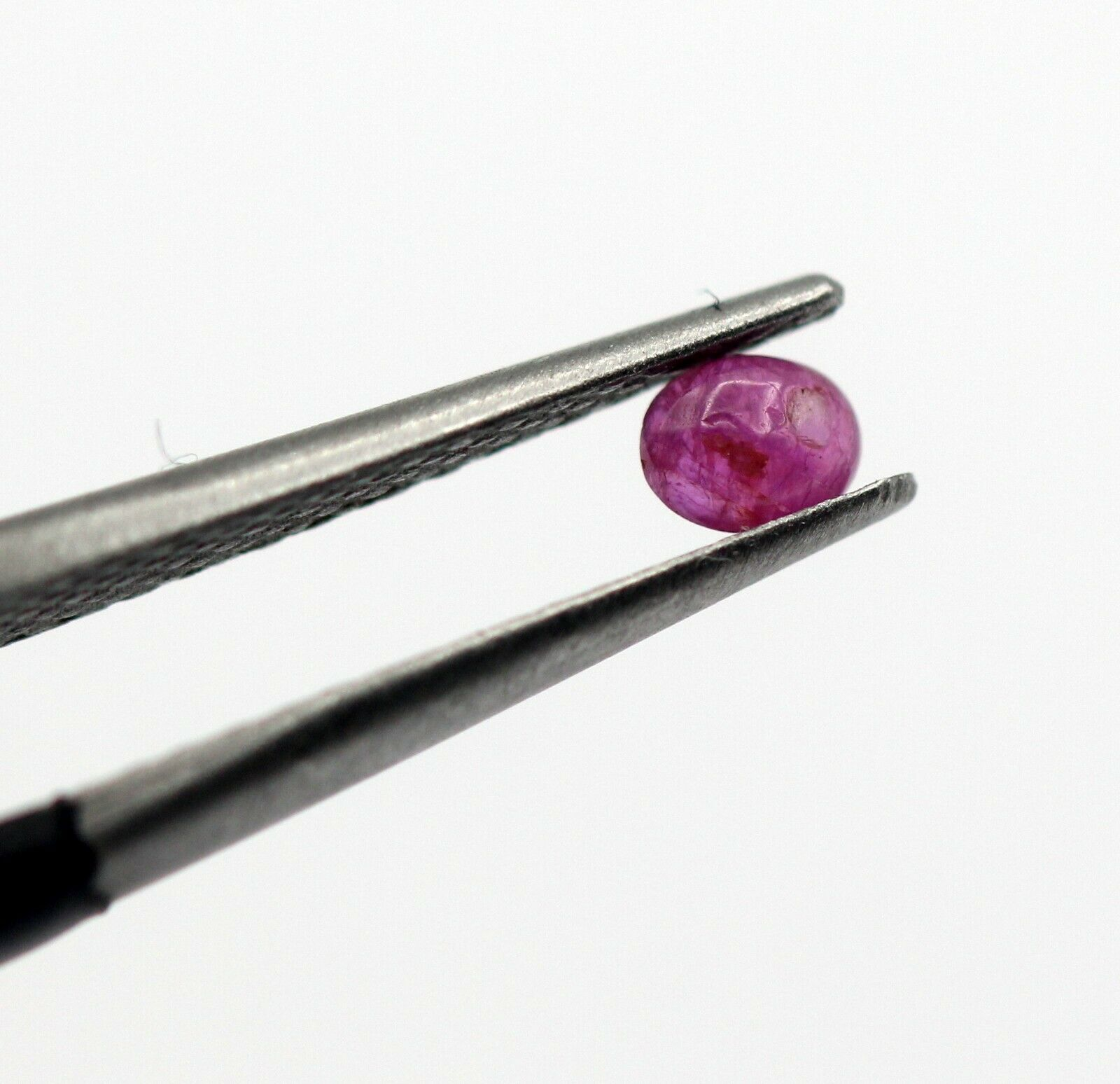 0.15 Ct Ruby Natural Gemstone Oval Cabochon Burma Unheated Certified