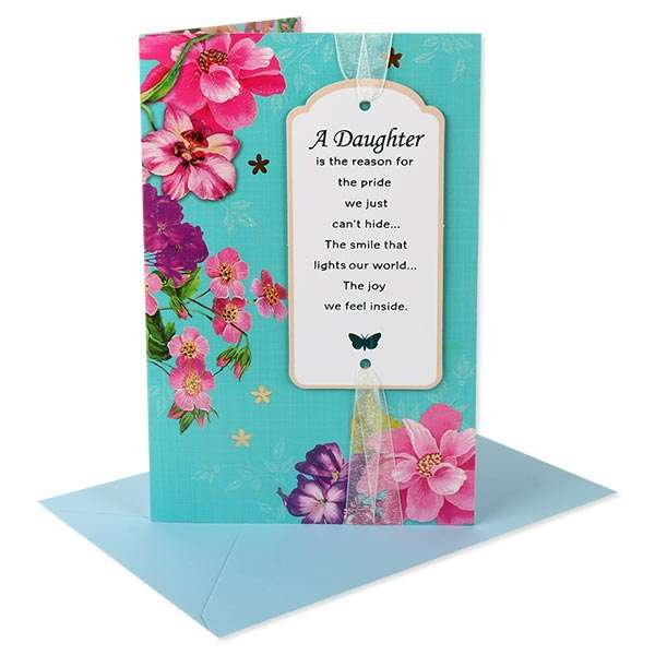 We Love You Greeting Card For Daughter GDR 00022