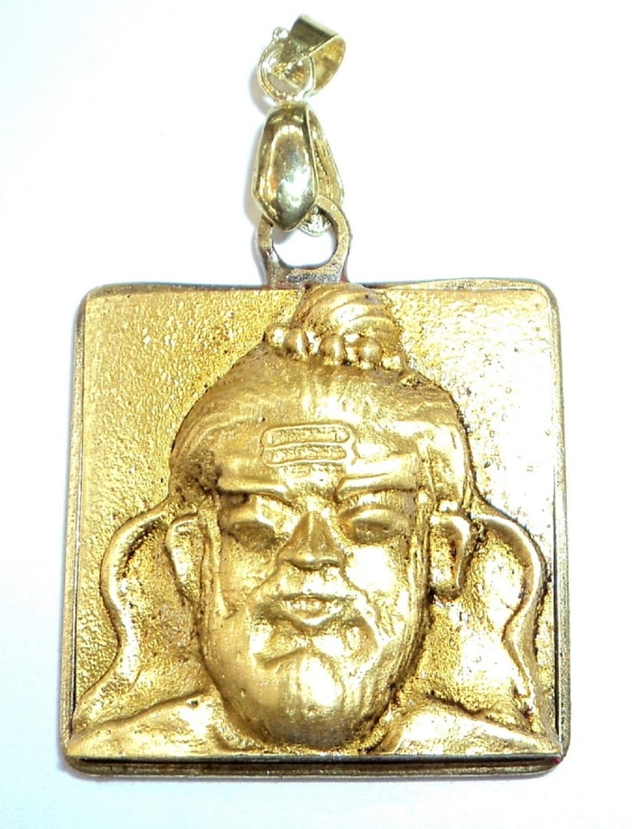 Numeroastro Shri Guru (Jupiter) Brihaspati Yantra Pendant In Brass For Education & Knowledge (1 Pc)