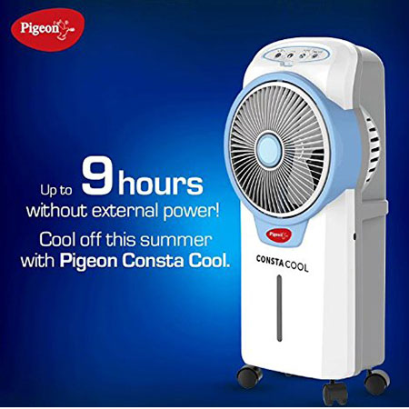 Pigeon Rechargeable Air Cooler Consta Cool (Blue)