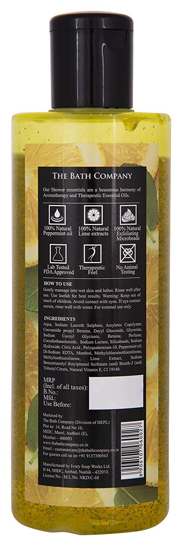 The Bath Company Lemon Mojito Shower Gel (250 ml)