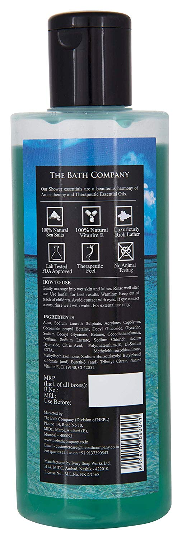 The Bath Company Caribbean Blue Shower Gel (250 ml)
