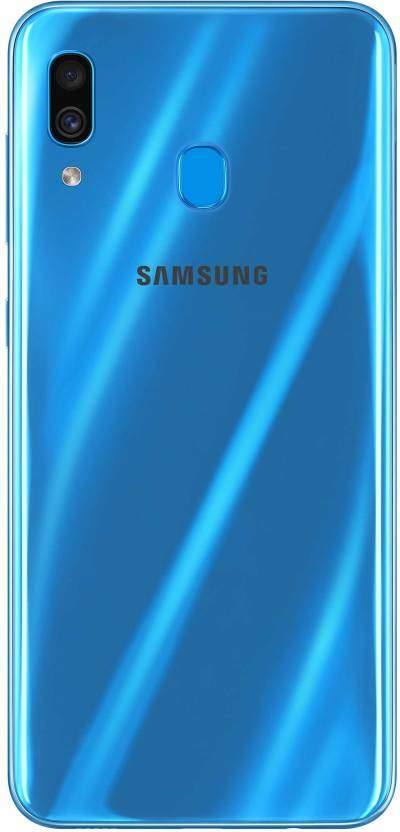 Samsung Galaxy A30 (RAM 4 GB, 64 GB, Blue)