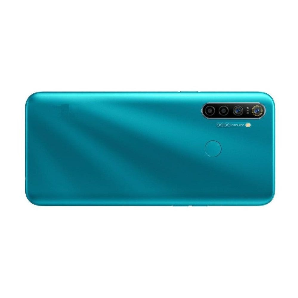 Realme 5i Compatible Full Body Replacement Housing (Blue)