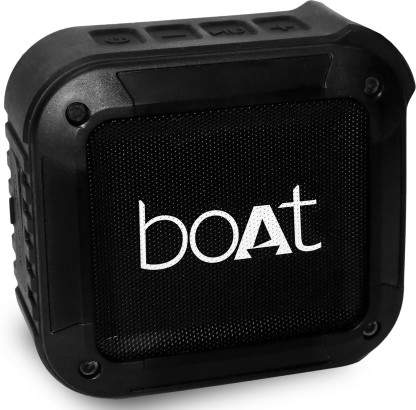 Boat Stone 210 3 W Bluetooth Speaker(Black, Mono Channel)