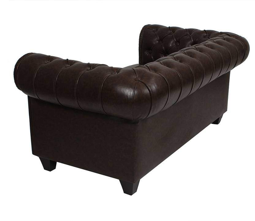 Leather 3 + 2 + 1 + 1 Sofa Set (Brown)