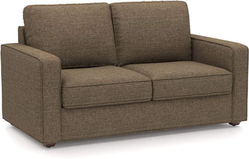 Urban Ladder Apollo 111 Fabric 3 + 2 + 1 + 1 Sofa Set (Brown)