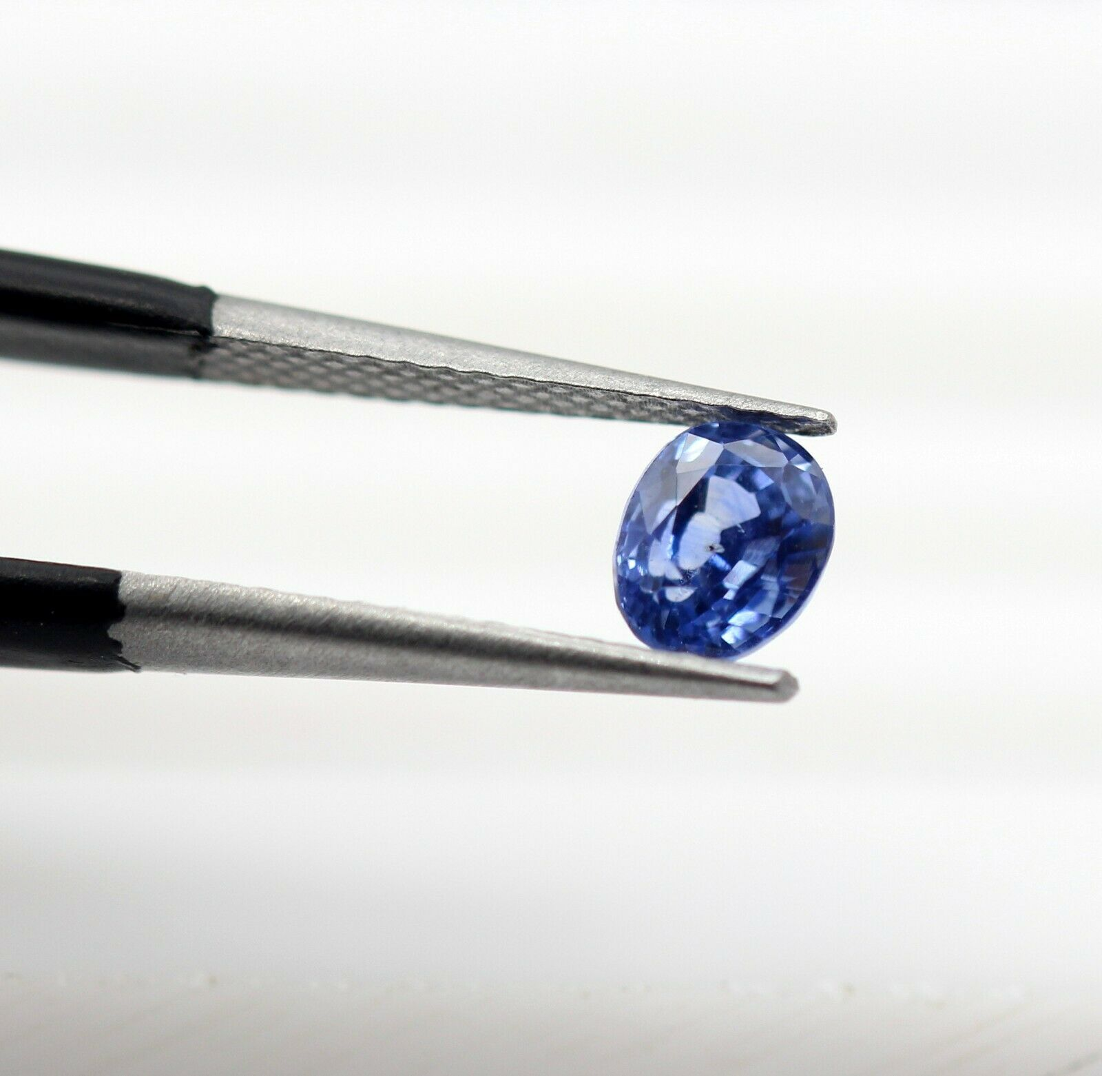 0.83 Ct Blue Sapphire Natural Gemstone Royal Blue Color Oval Cut Ceylon Certified
