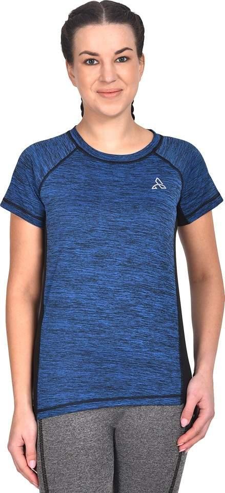 ATHLIV Sports Women Round Neck Blue T-Shirt
