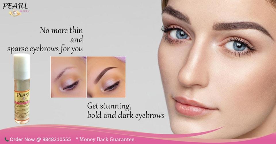 Pearl Eyebrow Growth Oil
