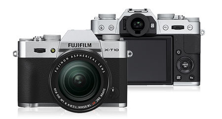 Fujifilm X Series X-T10 16.3 MP 18-55mm Lens Kit Mirrorless (Silver)
