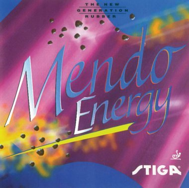 Stiga Mendo Energy Black Table Tennis Rubber On Order