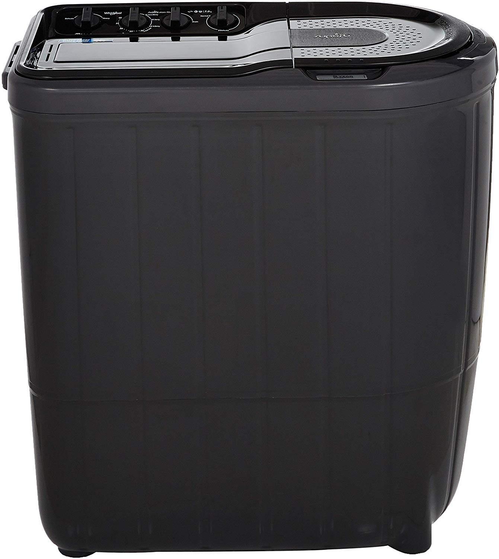 Whirlpool 7 Kg Semi-Automatic Top Loading Washing Machine (SUPERB ATOM 70S GREY DAZZLE (5YR), Grey Dazzle)