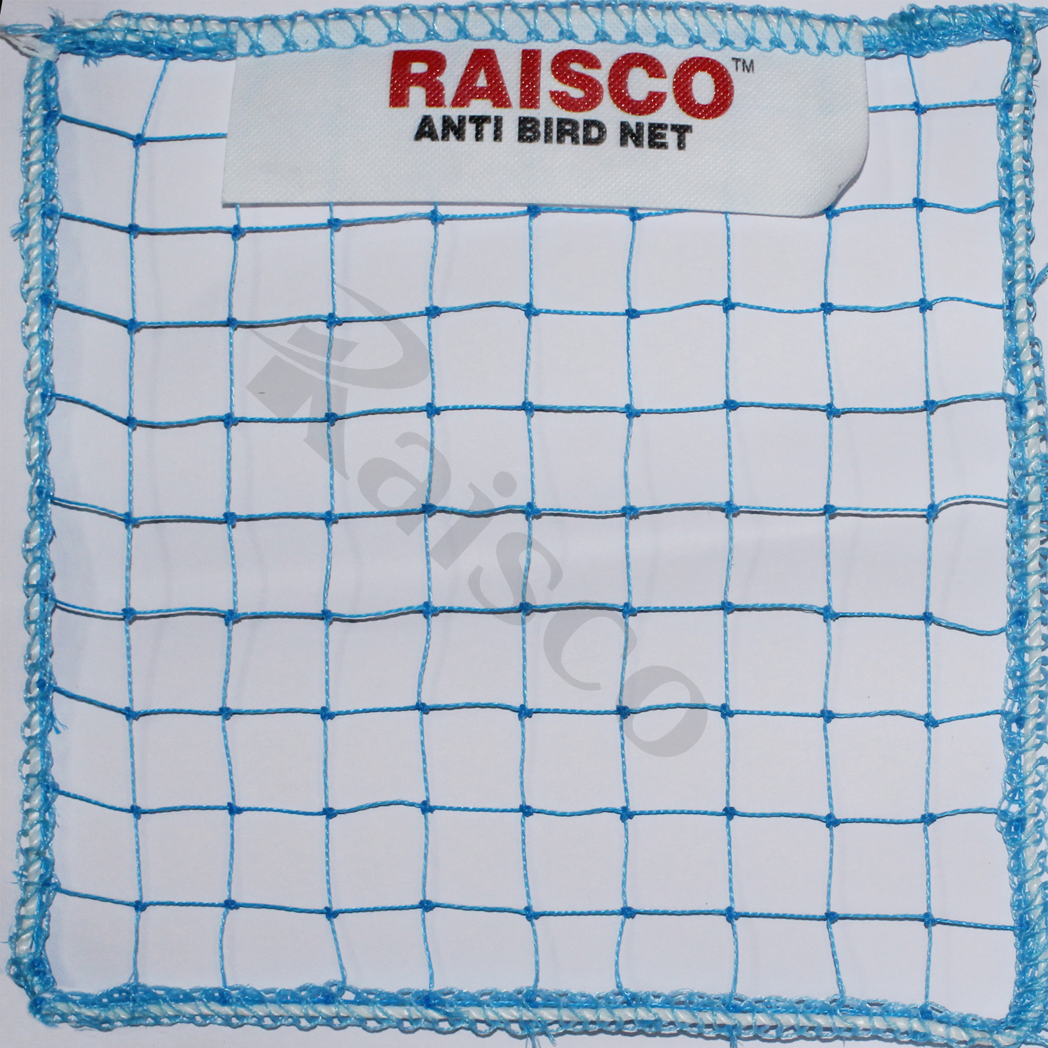 Raisco 10x15 Ft Anti-Bird Net (150 Sq Ft) Nylon Bird Net With 20Pcs Plastic Cable Clips & Tying Ropes