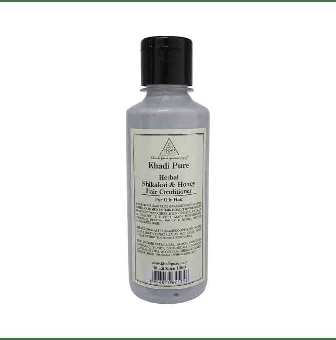 Khadi Pure Herbal Shikakai & Honey Hair Conditioner 210 Ml