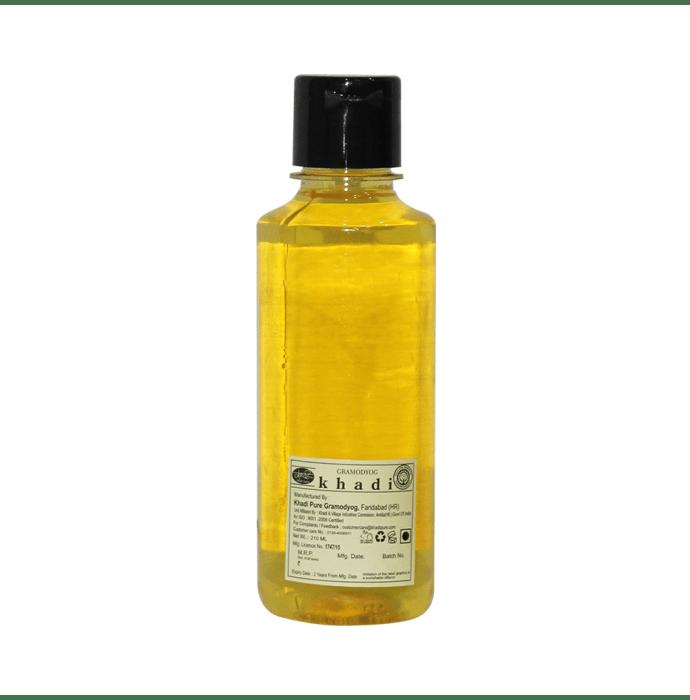 Khadi Pure Herbal Saffron, Tulsi & Reetha Shampoo 210 Ml
