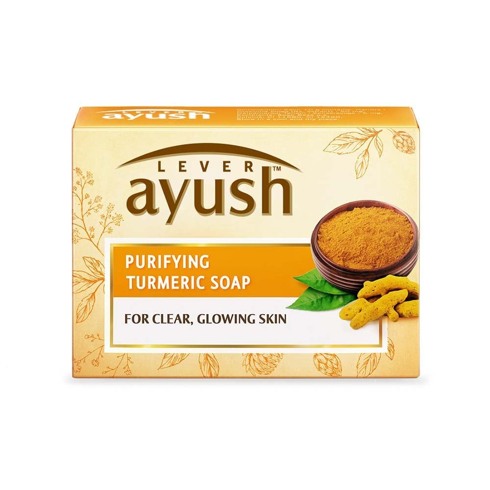 AYUSH PURIFYING TURMERIC SOAP 100G