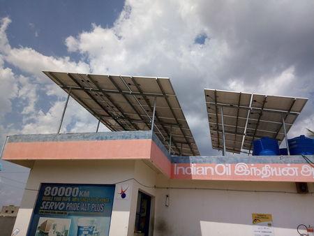 KIRLOSKAR SOLAR 7KW OFF GRID POWER PLANT FOR PETROL PUMPS IOCL BP HP -  SOLAR FOR IOCL , BP , HP , IBP RETAIL OUTLET - KIRLOSKAR SOLAR - TAMILNADU  -