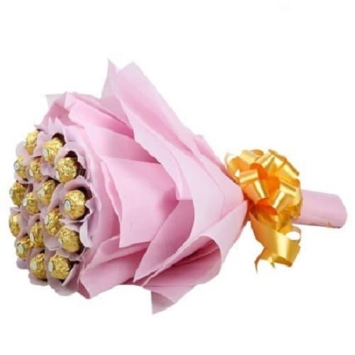 Chocolate Bouquet Arrangement - FFCB003 (Standard (09:00,12:00))
