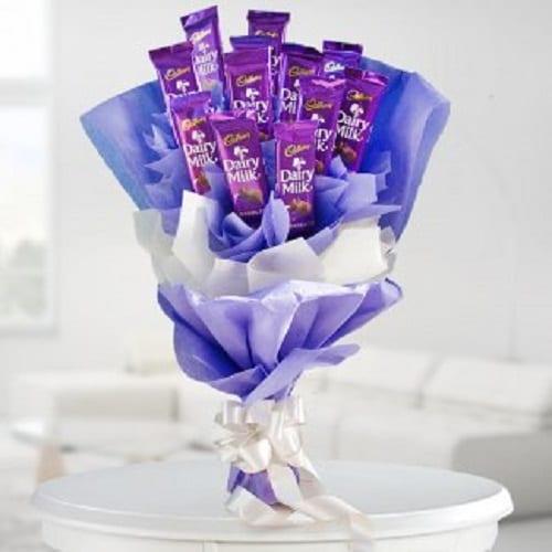Chocolate Bouquet Arrangement - FFCB004 (Standard (09:00,12:00))