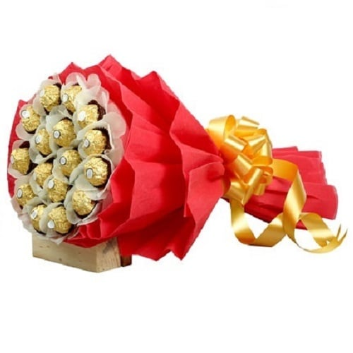 Chocolate Bouquet Arrangement - FFCB002 (Standard (09:00,12:00))