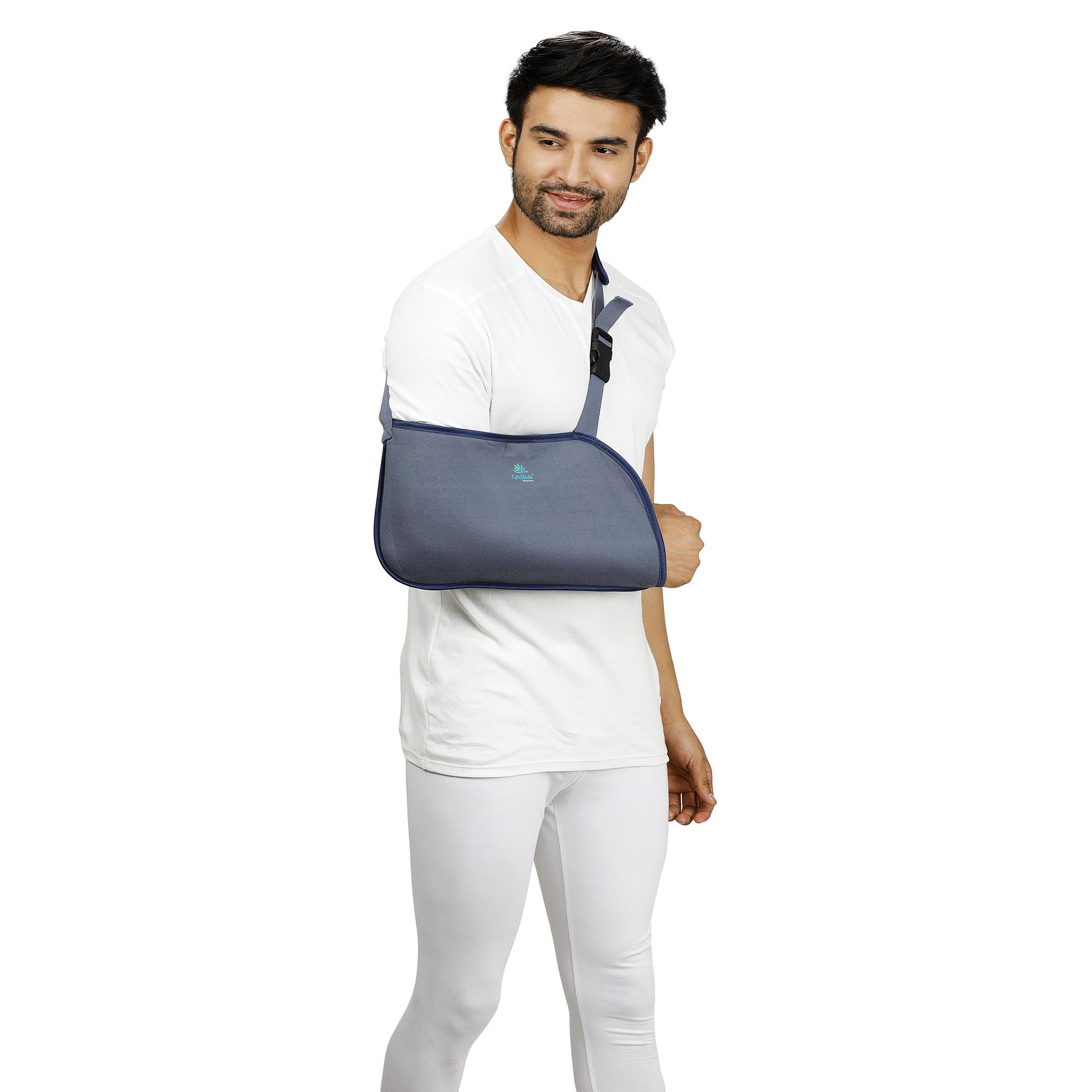 Lifeshield Arm Sling Pouch Baggy: Sling Is Used To Immobilize The Arm Movement While Injury (X Large)