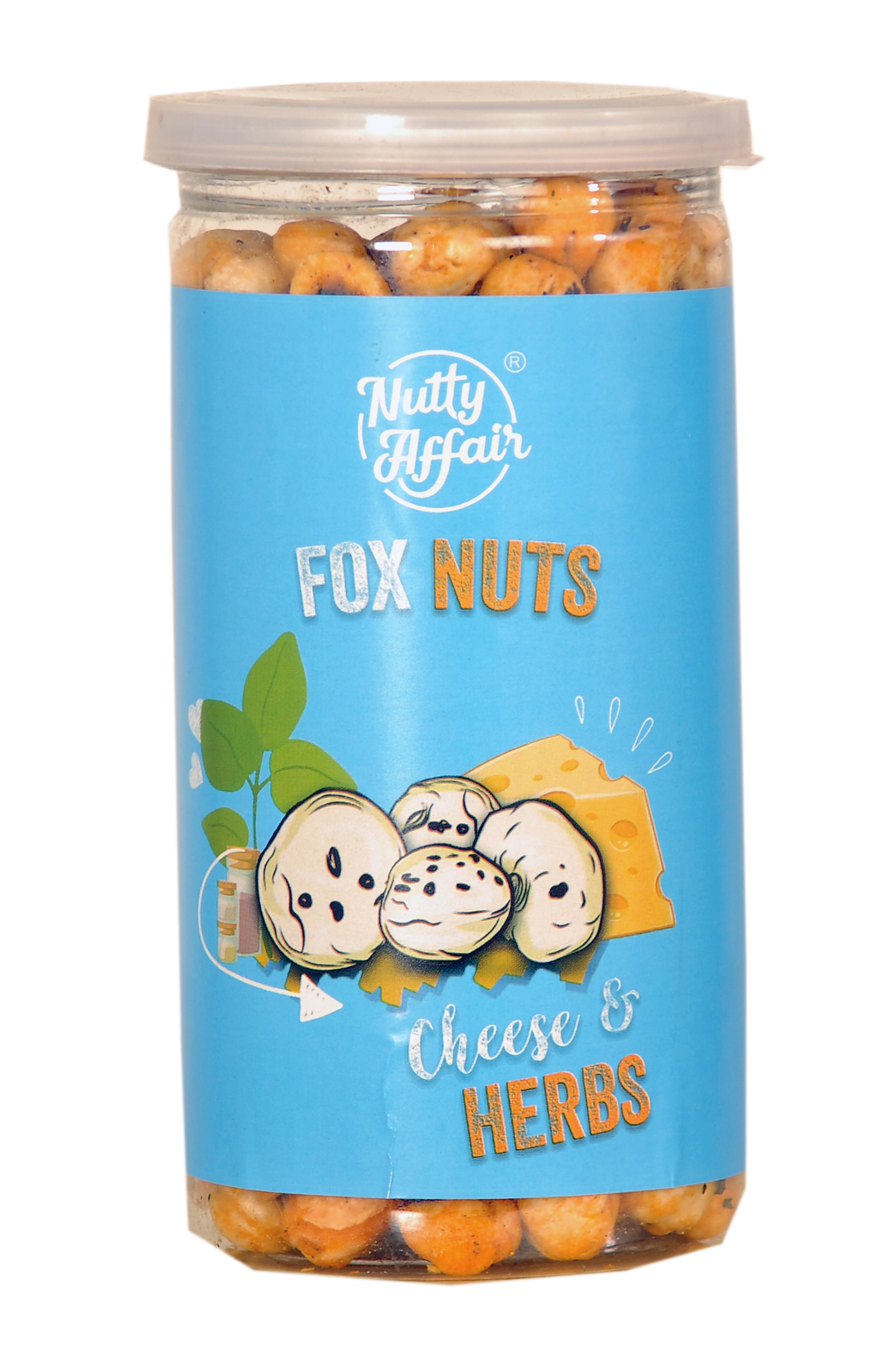 Cheese & Herbs Foxnut 90 Gms