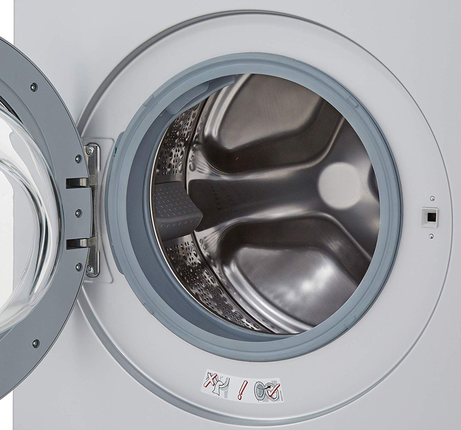 Bosch 7 Kg Fully-Automatic Front Loading Washing Machine (WAK24164IN, Silver)