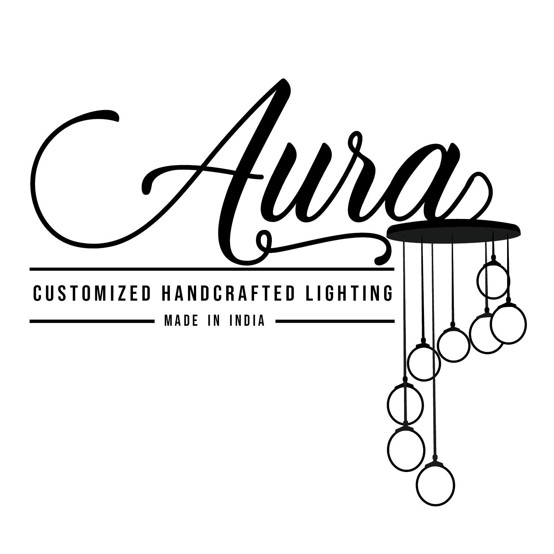 Aura Pendant Long Blue Customizable