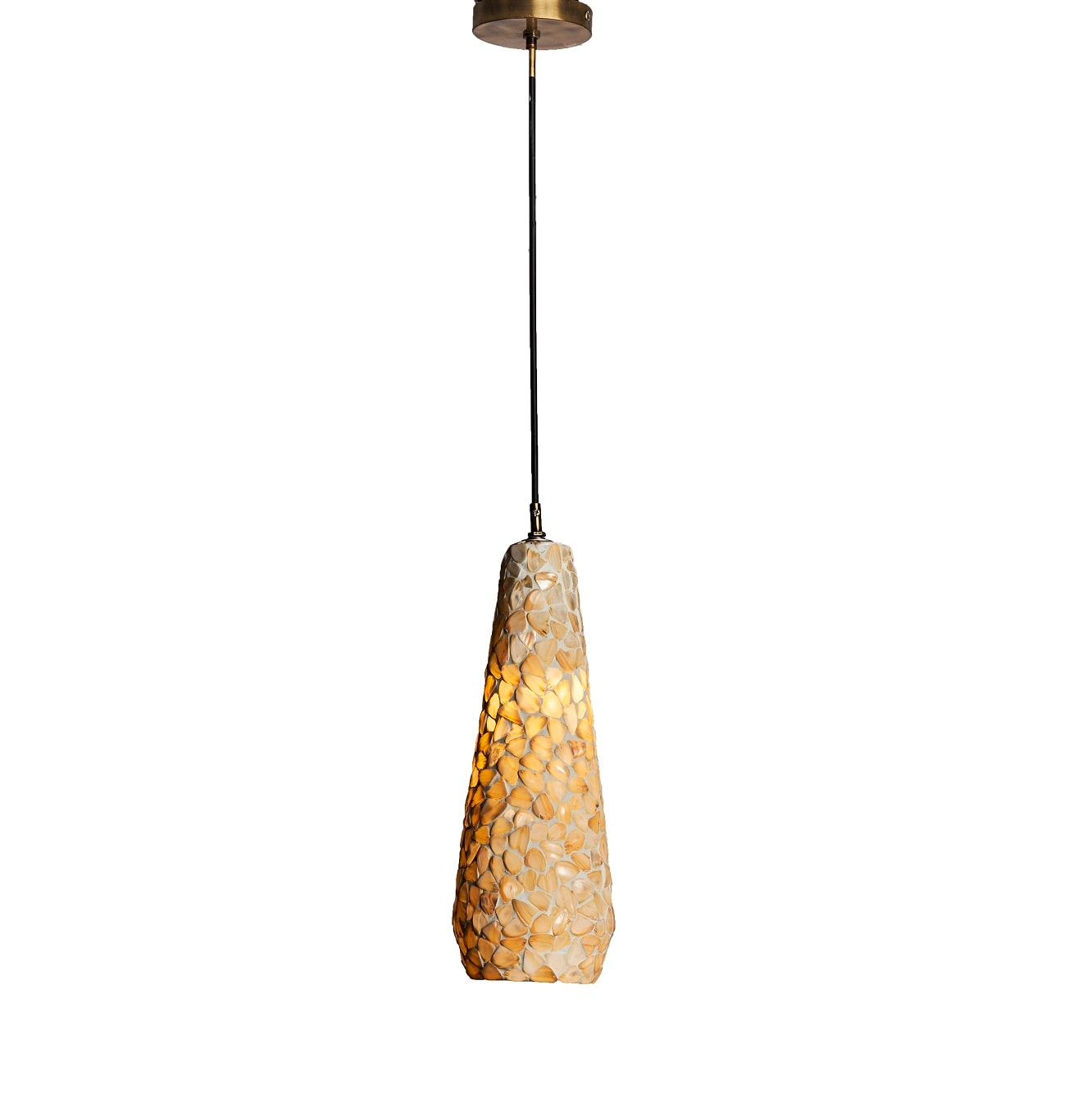 Aura Pendant Long Shell Customizable