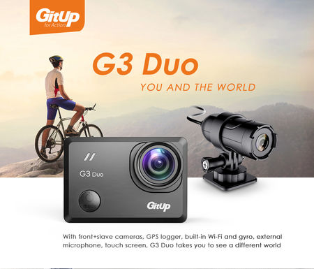 GITUP G3 DUO PRO PACKING - ACTION CAMERA - Sunshine