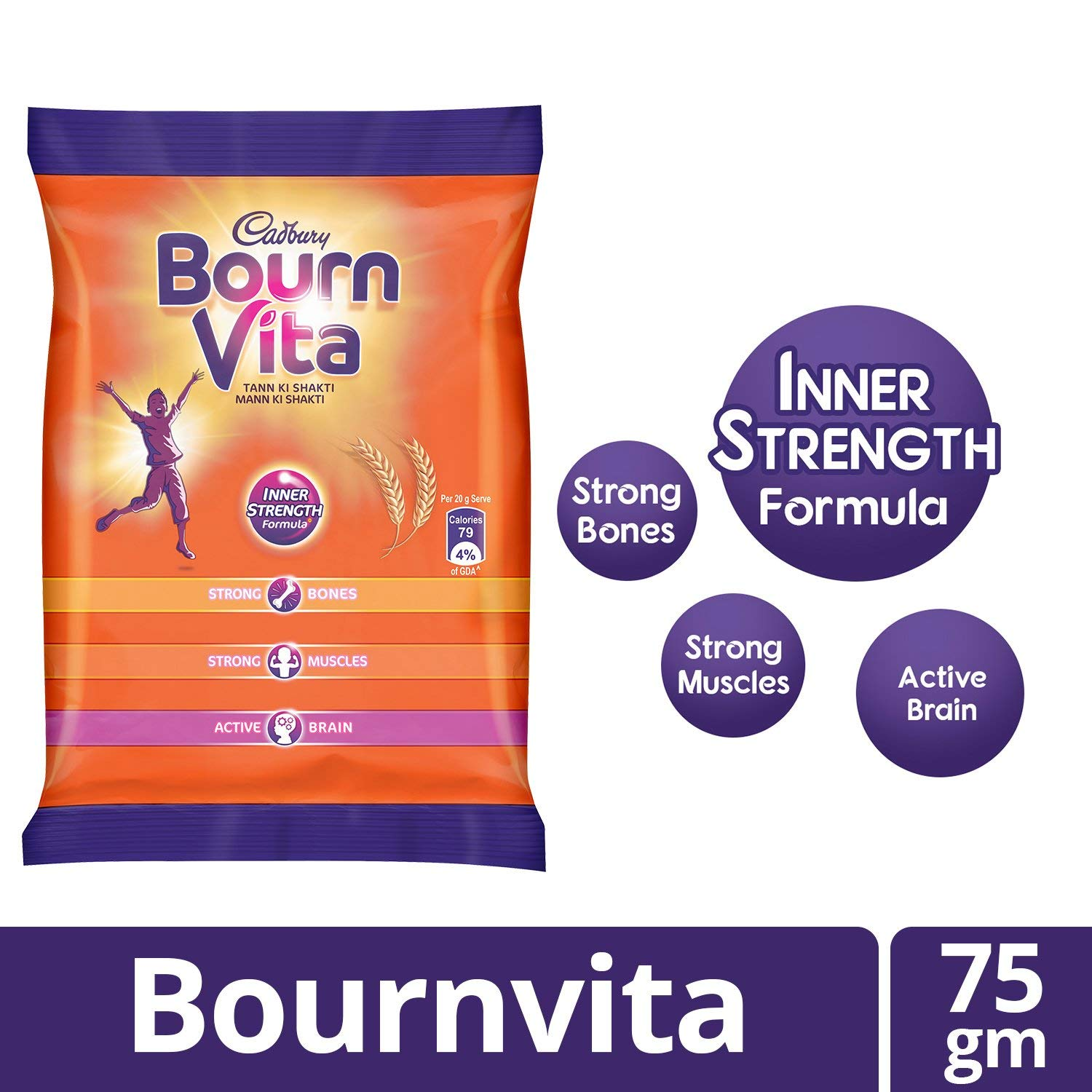 BOURNVITA NEW PACK-75 G
