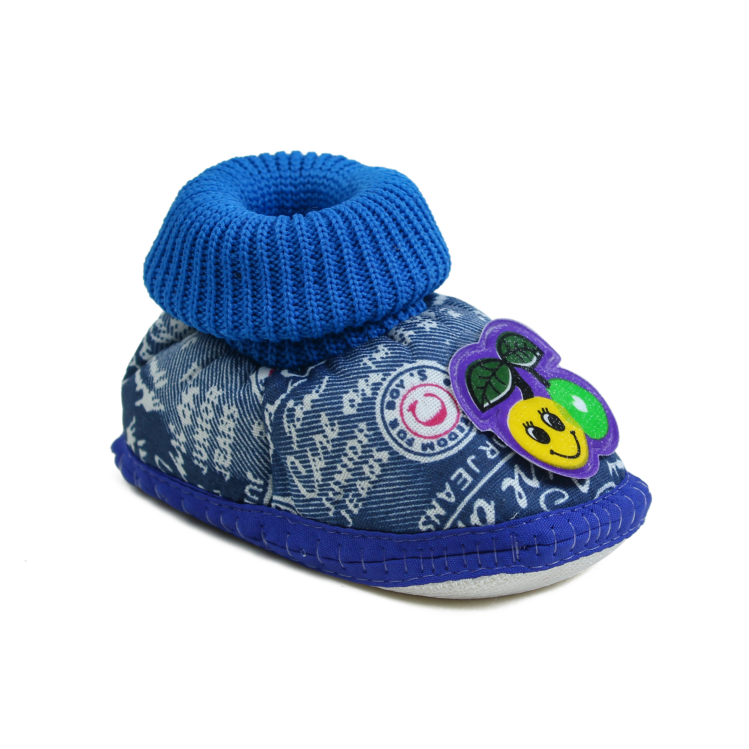 Foot Trends DNM FUR NBB BK RD BL Stylish & Casual Shoes For Kids (0) (Multicolour, 0, 12 PAIR)