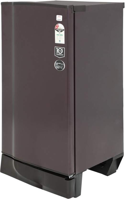 Godrej 190 L Direct Cool Single Door 2 Star Refrigerator(Shell Wine, RD Edge 205 WRF 2.2 Shell Wine)