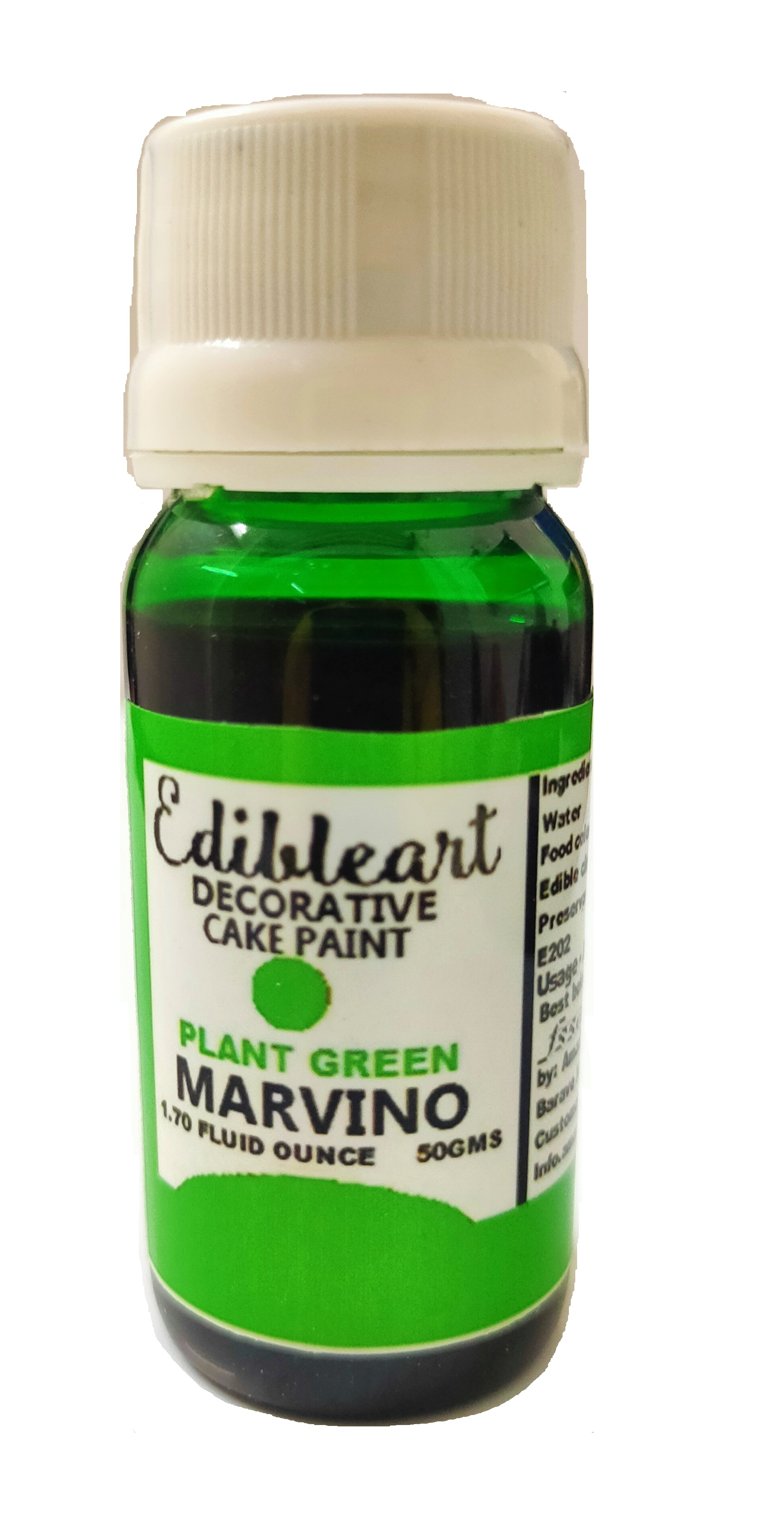 Marvino Edible Color For Art, Food And Craft Pack Of 6
