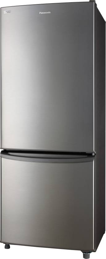 Panasonic 296 L Frost Free Double Door 2 Star Refrigerator  (Stainless Steel, NR-BR307XSX1)