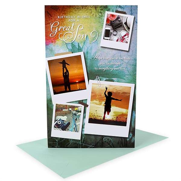 Birthday Card For Son GREETING CARD BSN 00158