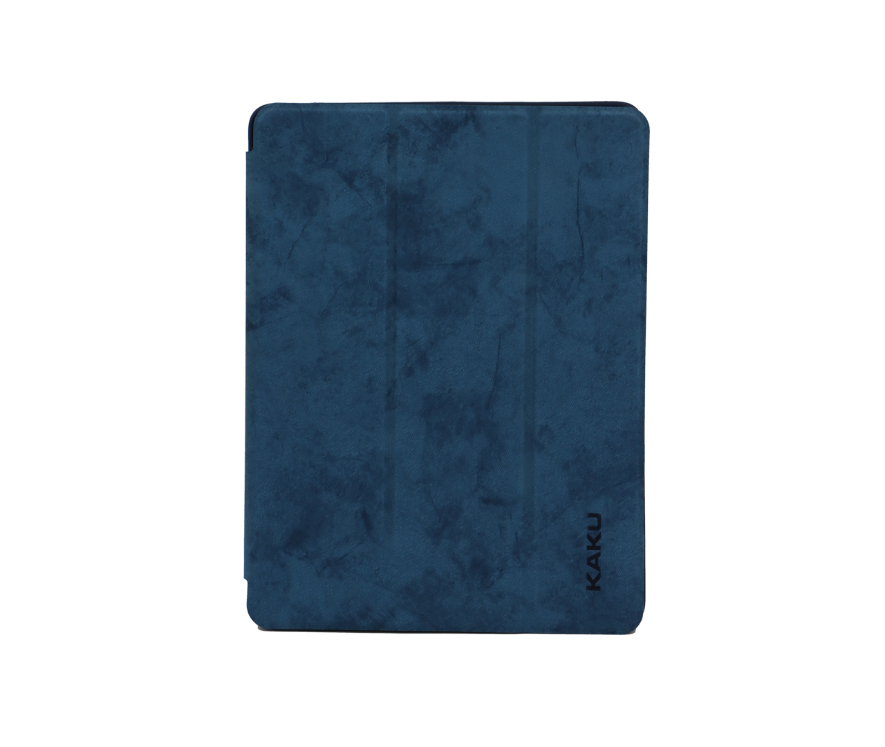 IKAKU Pen Slot Series Flip Cover For Ipad Air 2 / A1566 / A1567 (Blue)