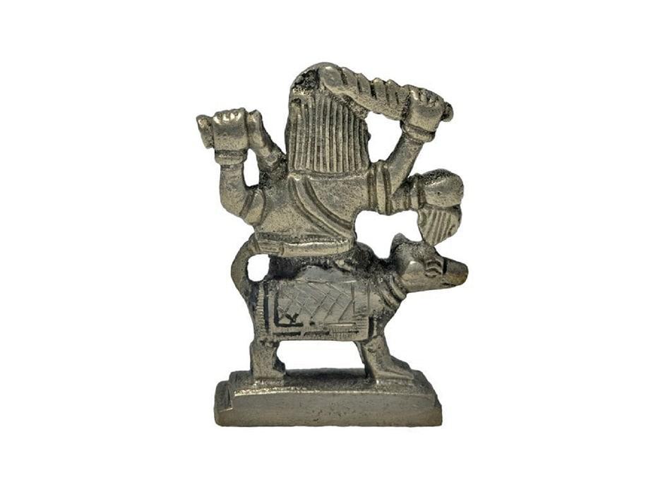 Numeroastro Bhairav Baba Idol In Panchdhatu - (7 Cms)