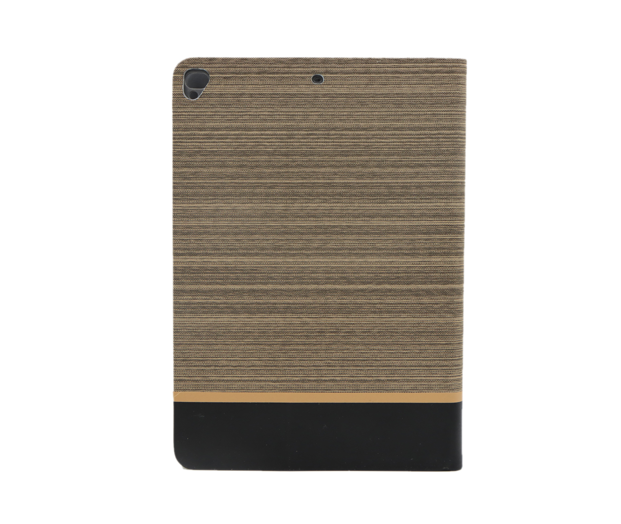 IKAKU Brown Series Flip Cover For Ipad 6 (6th  Generation) / A1893 / A1954 (Gold)