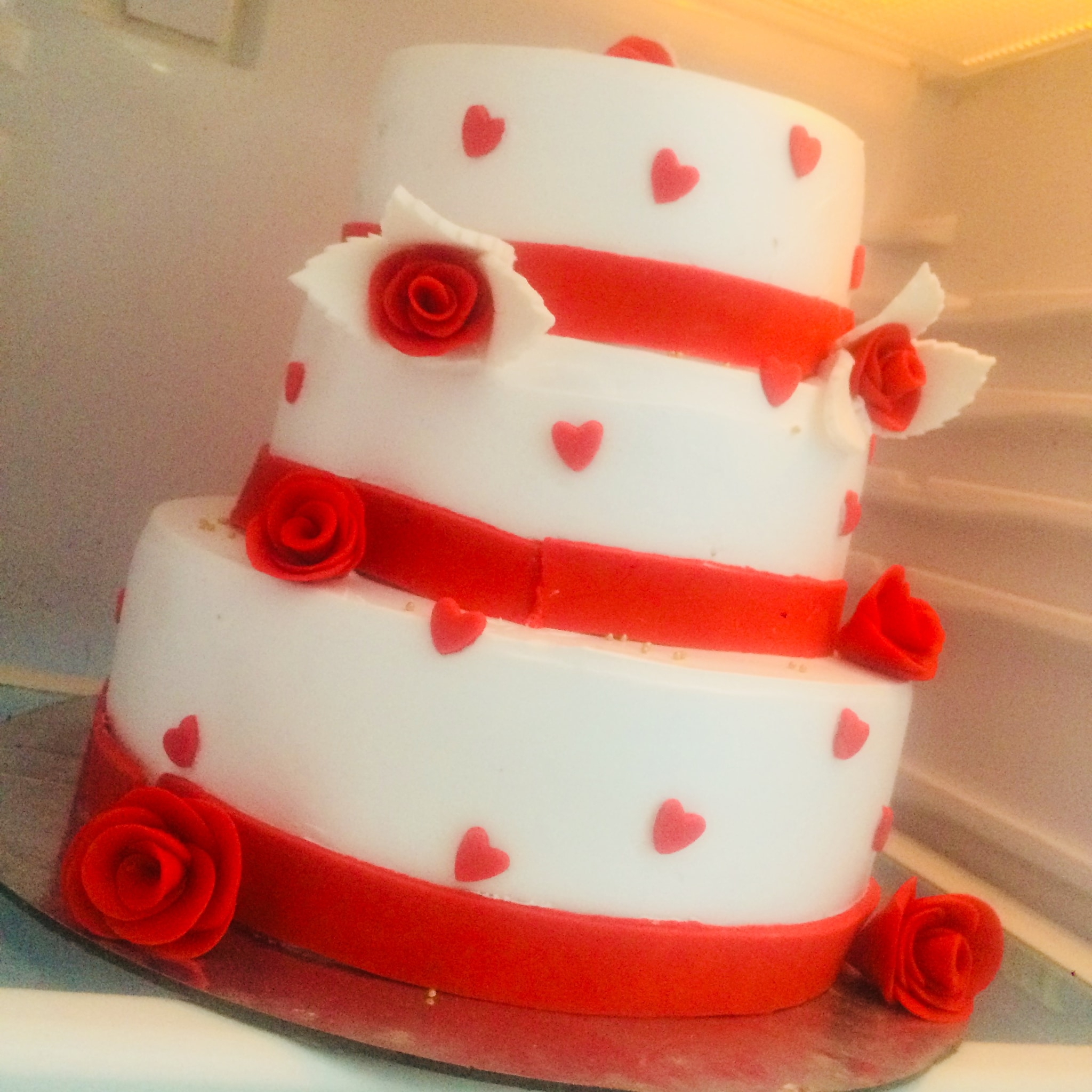 Anniversary Cake (3 Kg,Butter Scotch)