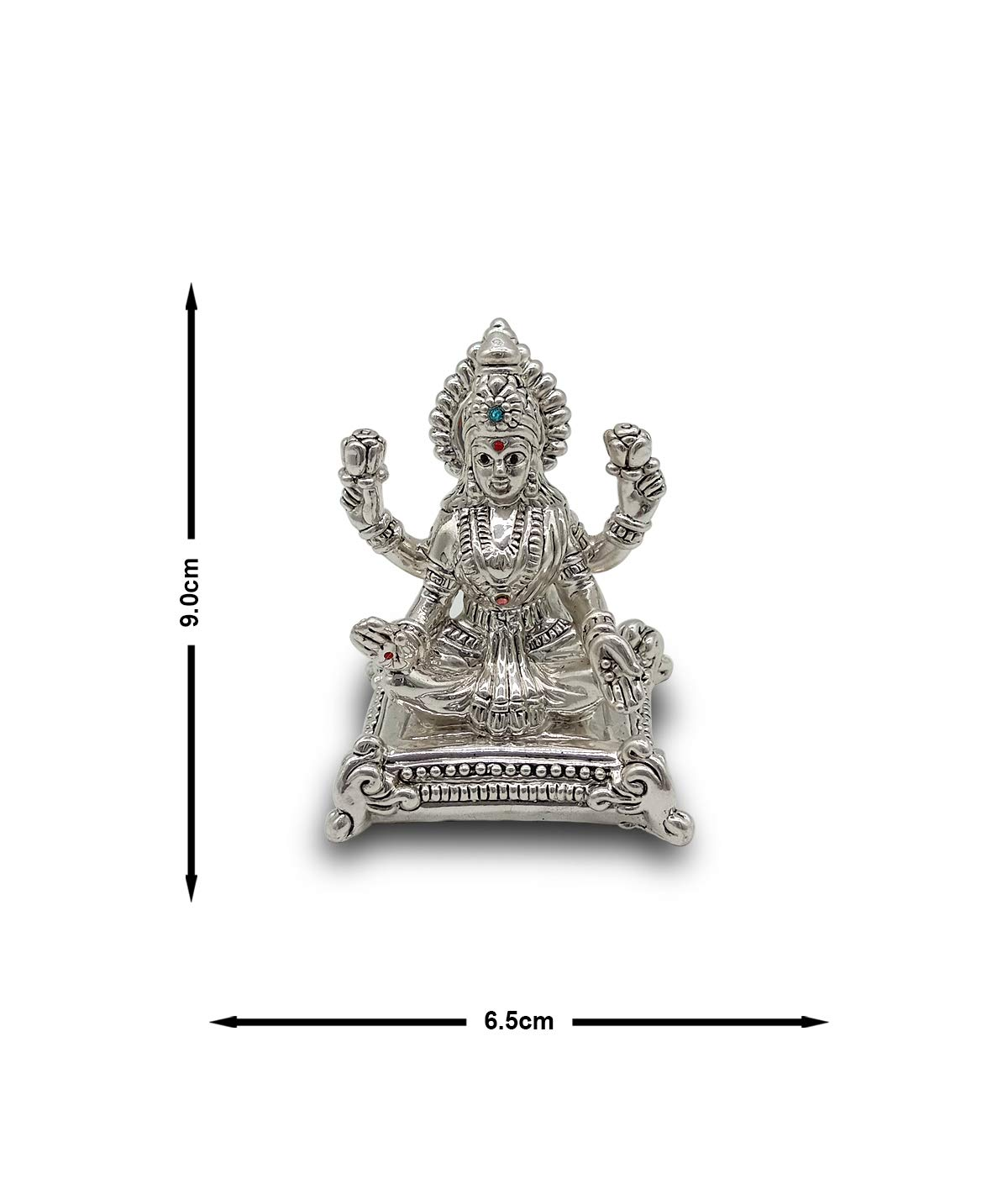 Silver Lakshmi/Laxmi Idol 40gm 999 Purity