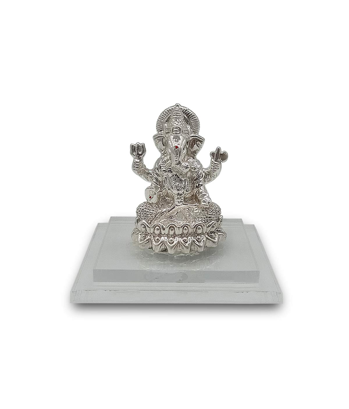 Silver Ganpati/Ganesh Idol 25gm 999 Purity