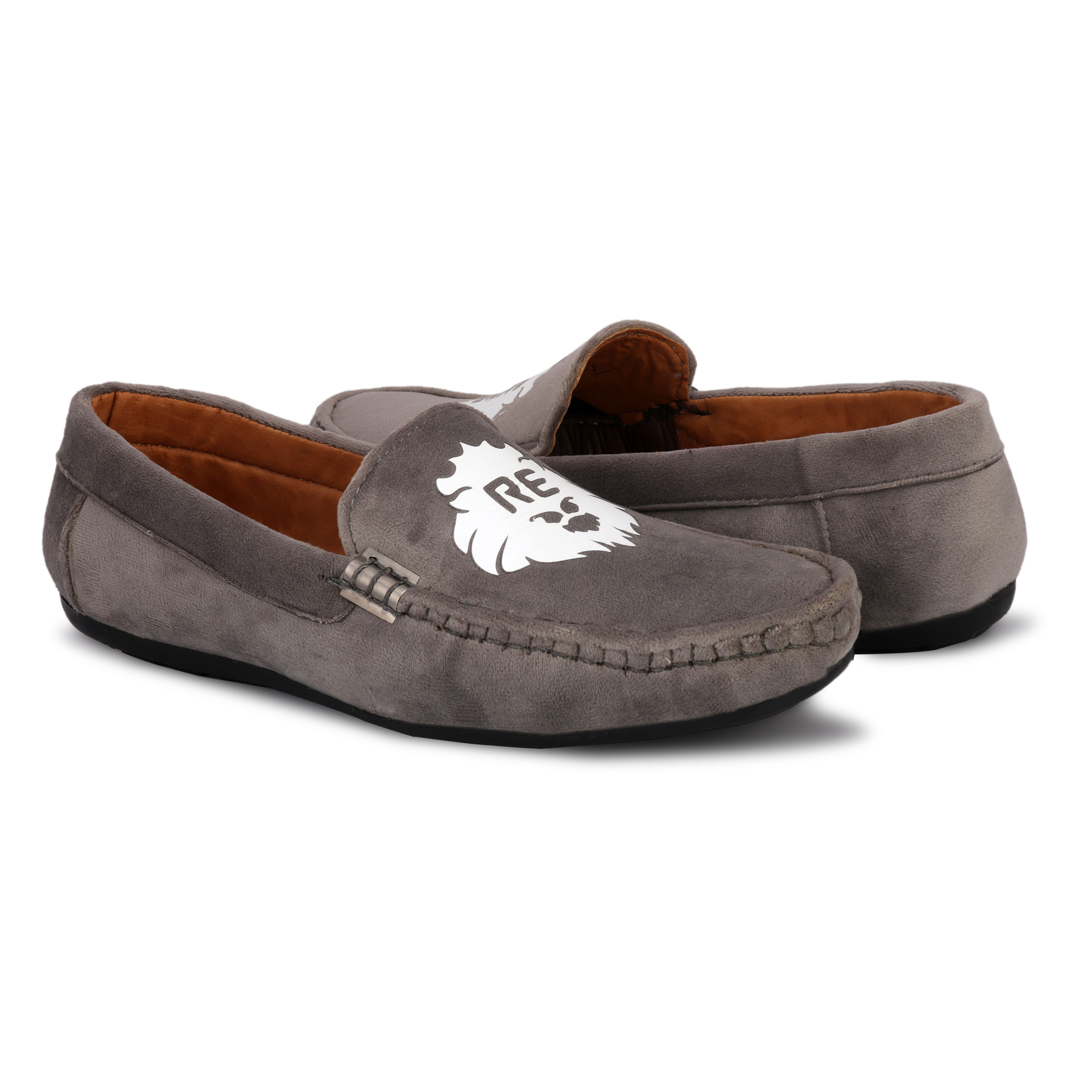BRIFAR COMFORTABLE & TRENDY LOAFERS SHOES ARE RELIABLE FOR ANY BFL0795GRY (GERY, 6-9, PAIR'S)
