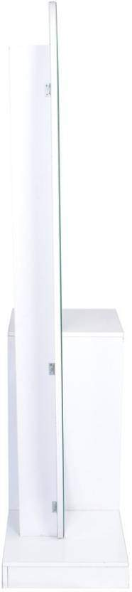 Parin DRS 101-102 Glass Dressing Table (White)