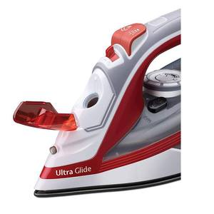 Morphy Richards Ultra Glide Steam Iron, White/Red